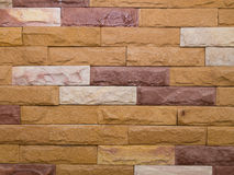 Sandstone Bricks Wall Stock Image