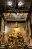 Sandstone buddha image Stock Photos