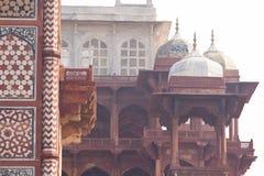 Sandstone Buildings At Akbar`s Tomb, Sikandra Royalty Free Stock Photos