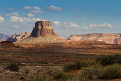 Sandstone butte Royalty Free Stock Image