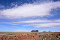 Sandstone buttes royalty free stock image