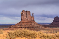 Sandstone buttes in a region of the Colorado Plateau in AZ Royalty Free Stock Photography