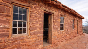 Sandstone Cabin at Pipe Spring National Monument Royalty Free Stock Photography
