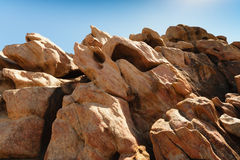Sandstone at Canal Rocks, Australia Royalty Free Stock Photography