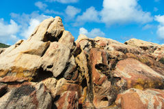 Sandstone at Canal Rocks, Australia Royalty Free Stock Photo
