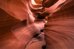 Sandstone canyon Royalty Free Stock Photos