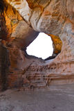 A sandstone cave in Pilliga. Australia; New South Wales Stock Photo