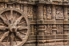 Free Sandstone Chariot Wheel Stock Photography - 48845832