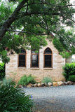 Sandstone Church Cottage Stock Photography