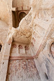 Sandstone Church Detail at Cappadocia Royalty Free Stock Images