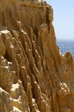 Sandstone cliff Stock Photos