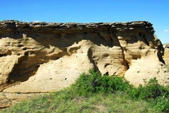 Sandstone cliff Stock Photo