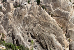 Sandstone Cliff of Devil's Punchbowl Stock Photography