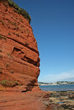 Sandstone cliffs Royalty Free Stock Images