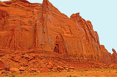 Sandstone cliffs in the Desert Stock Image