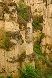 Sandstone cliffs at Kad Muang Phee,Thailand Stock Photography