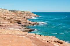 Sandstone Cliffs:Pot Alley, Western Australia Stock Images