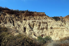 Sandstone cliffs Stock Image