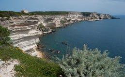 The sandstone cliffs Stock Photo