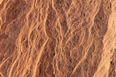 Sandstone close up red rock stock photos