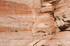 Sandstone close up. Textured and weathered sandstone background close up Stock Photo