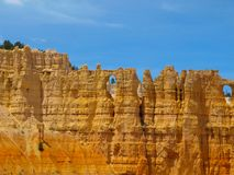 Sandstone columns of Bryce Canyon Royalty Free Stock Images