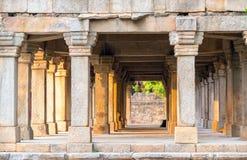 Sandstone columns at Hauz Khas, Delhi, India Royalty Free Stock Image
