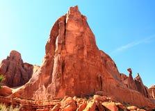 Sandstone corrmoído alto fotografia de stock royalty free