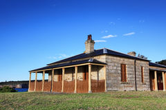 Sandstone Cottage Australia Stock Images