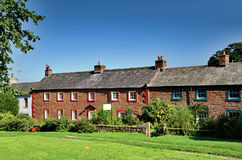 Sandstone cottages in Dufton, Cumbria Stock Photography