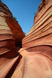 Sandstone Desert Trail royalty free stock photography