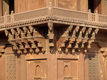 Sandstone of Diwan-i-khas in Fatehpur Sikri Royalty Free Stock Image