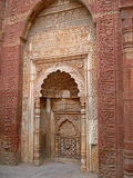 Sandstone doorway. From fort in India Royalty Free Stock Photo