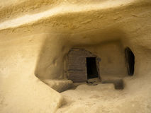 Sandstone Dwelling Royalty Free Stock Images