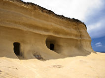 Sandstone Dwelling Royalty Free Stock Photography