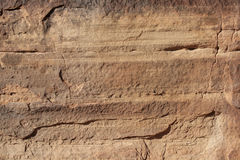 Sandstone face Stock Image