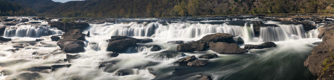 Sandstone Falls on New River Summers County West Virginia Royalty Free Stock Images