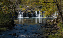 Sandstone Falls on New River Summers County West Virginia stock images
