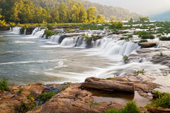 Sandstone Falls on the New River Royalty Free Stock Photos