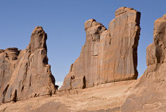Sandstone Fins Royalty Free Stock Photography