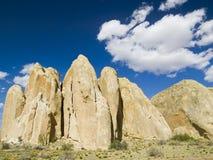 Sandstone Fins, Cottonwood Canyon Road, Utah Royalty Free Stock Photos
