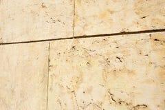 Sandstone flat wall Royalty Free Stock Photos