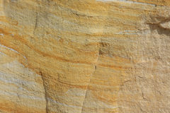 Sandstone formation. Background of yellow and white sandstone Royalty Free Stock Photos