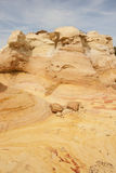Sandstone formation. Colorful sandstone formations in New Mexicos Wilderness Royalty Free Stock Images