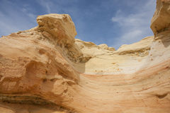 Sandstone formation. Colorful sandstone formations in New Mexicos Wilderness Royalty Free Stock Photos