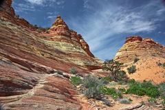 Free Sandstone Formation At Coyote Buttes South Royalty Free Stock Photos - 11132928