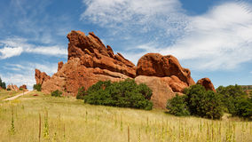 Sandstone Formation in Roxborough State Park Royalty Free Stock Photos