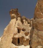 Sandstone formations in Cappadocia. Turkey Royalty Free Stock Photography