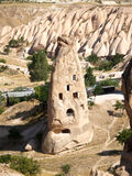 Sandstone formations in Cappadocia Royalty Free Stock Image