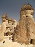Sandstone Formations In Cappadocia Stock Photo
